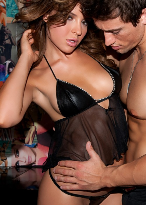 Leather Babydoll