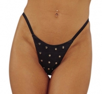 Leather G-String w/Rivets