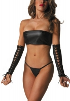 Lace Up Leather Arm Guards