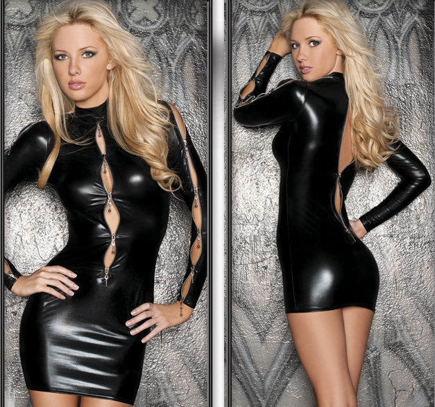 Alluring Zipper Dress