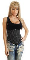 Office Girl Full-Back Underbust Corset