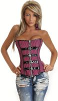Pin-Up Punk Burlesque Corset