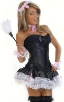 French Maid-6 Pc Sexy Maid