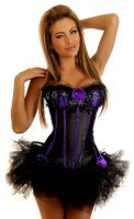 Sequin Seduction Burlesque Corset & Pettiskirt