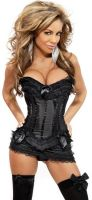 Burlesque Corset & Skirt Set