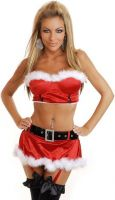 Santas Sweetheart Skirt Set