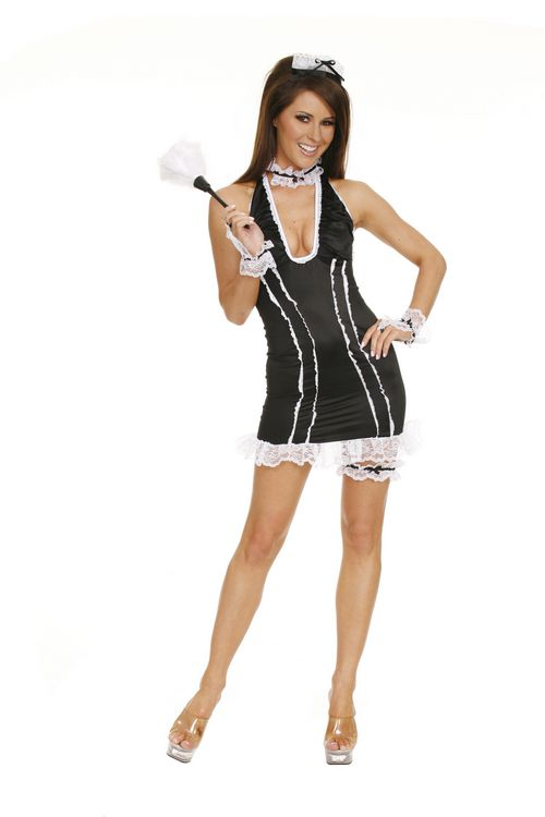 French Maid-Chamber Maid - Sexy Costumes - Sexy Dresses, Sexy Gowns, Sexy Lingerie, Sexy Costumes, & Sexy Clubwear! at Danger Kitty Fashions! - (Powered by CubeCart)