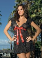 Deep V Baby Doll Set