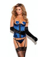 Satin Bustier Set