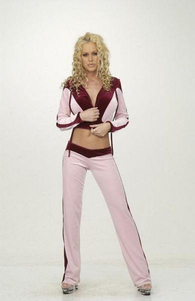 Plush Velvet Crop Jacket & Low Rise Pants