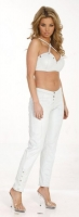 Criss Cross Top & Tapered Pant Set