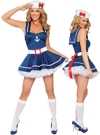 Sailor-Sweetheart Sailor - Sexy Costumes - Sexy Dresses, Sexy Gowns, Sexy Lingerie, Sexy Costumes, & Sexy Clubwear! at Danger Kitty Fashions! - (Powered by CubeCart)