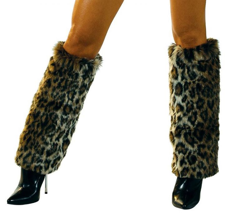 Leopard Boot Covers