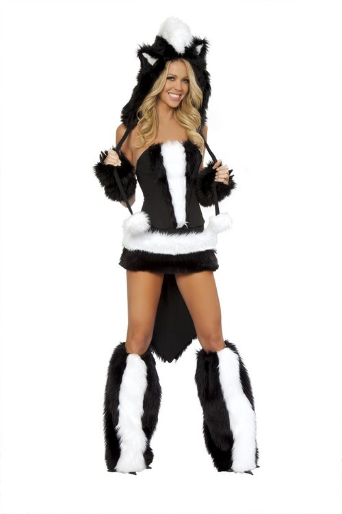 Skunk-Flower Costume