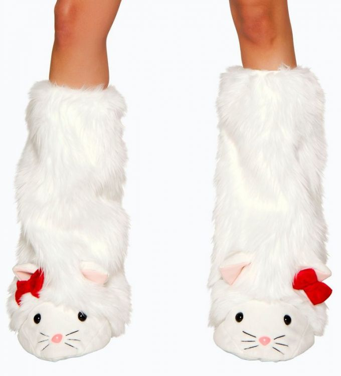 Kitty Cat Legwarmers