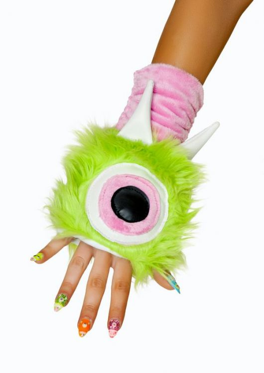 One Eyed Monster Gloves