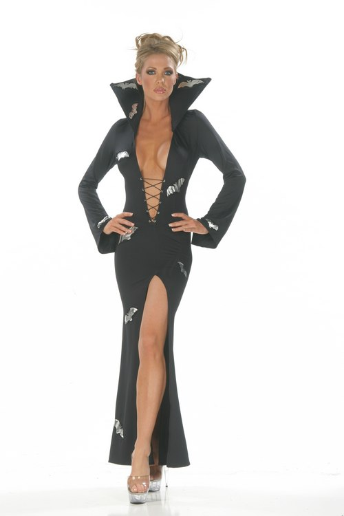 Vampiress Costume (Long) - Sexy Costumes - Sexy Dresses, Sexy Gowns, Sexy Lingerie, Sexy Costumes, & Sexy Clubwear! at Danger Kitty Fashions! - (Powered by CubeCart)