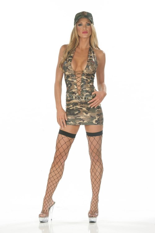 Military-Army Babe - Sexy Costumes - Sexy Dresses, Sexy Gowns, Sexy Lingerie, Sexy Costumes, & Sexy Clubwear! at Danger Kitty Fashions! - (Powered by CubeCart)