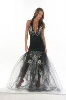 Amazing Halter Gown