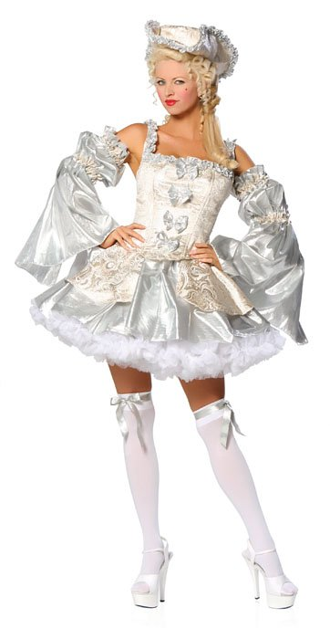 Marie Antoinette Silver Costume - Sexy Costumes - Sexy Dresses, Sexy Gowns, Sexy Lingerie, Sexy Costumes, & Sexy Clubwear! at Danger Kitty Fashions! - (Powered by CubeCart)