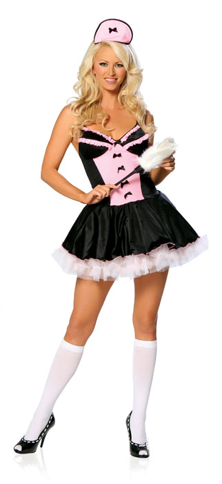 French Maid-3 Piece French Maid Costume - Sexy Costumes - Sexy Dresses, Sexy Gowns, Sexy Lingerie, Sexy Costumes, & Sexy Clubwear! at Danger Kitty Fashions! - (Powered by CubeCart)