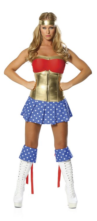 Super Heroine Boot Cuffs
