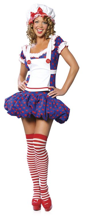 Rag Doll Costume - Sexy Costumes - Sexy Dresses, Sexy Gowns, Sexy Lingerie, Sexy Costumes, & Sexy Clubwear! at Danger Kitty Fashions! - (Powered by CubeCart)