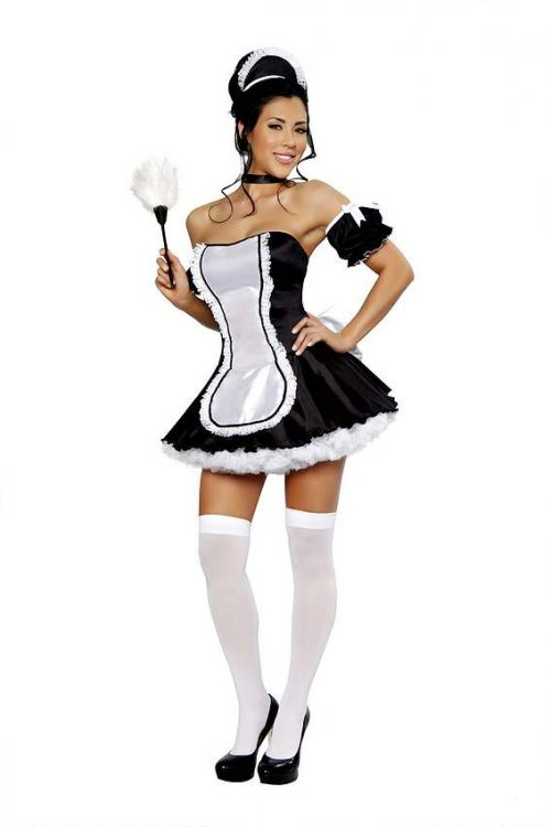 French Maid-At Your Service