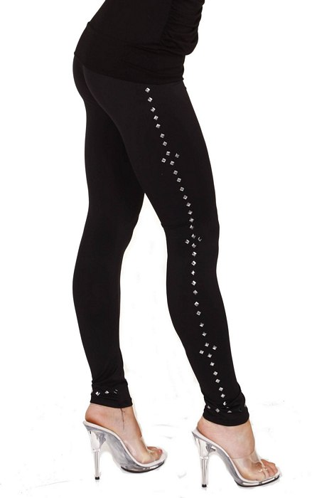 Fitted Stud Leggings