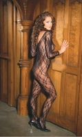 Deep V Longsleeve Bodystocking