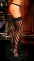 Stripe Thigh Highs