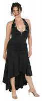 Halter Top Gown w/Full Skirt