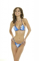 Blue Hawaiin Rio Back Bikini