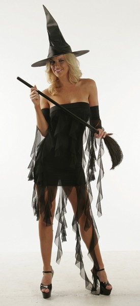 Witch-Sultry Witch Costume